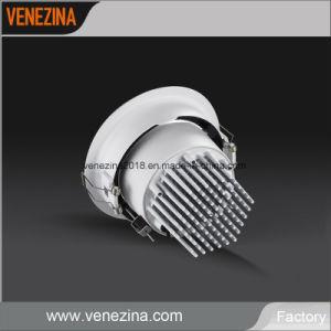LED ajustable 20W/25W/30W/40W Commercial de l'aluminium Spot LED Downlight encastré