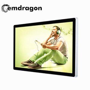 De vloer die Adverterend de VideoMuur van het Scherm zet Digitale Signage LCD van 27 Duim Digitale Signage 1080P Signage van de Reclame van het Scherm van de Aanraking van 55 op Duim Openlucht bevinden zich