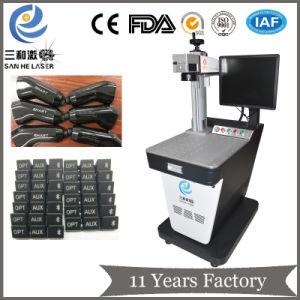 YAG волокна станок для лазерной маркировки на пластик