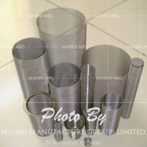 De Cilinder van de Filter van het roestvrij staal