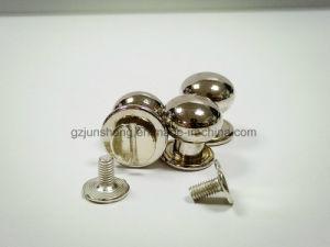 Material metálico y la hebilla de metal Accesorios bolsa tipo remaches tornillo