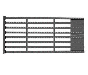 Водонепроницаемый чехол для установки вне помещений Пыленепроницаемость DIP-P25мм здание с фасадом видео Настенный светодиодный дисплей ячеистой сети