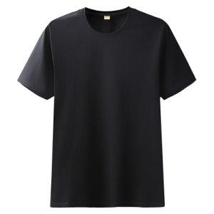 Moda masculina gola redonda Impressão Lazer DIY T-shirt Superior