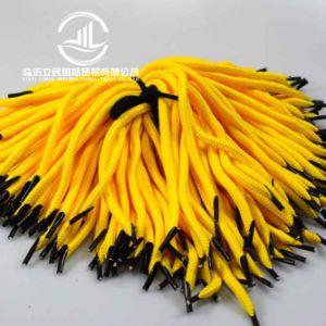 Corda della maniglia intrecciata cavità durevole all'ingrosso del PE per il sacco di carta (arancione)