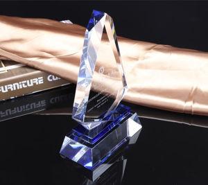 Trofeo del Rhombus di modo e piastra di cristallo del premio (KS04004)