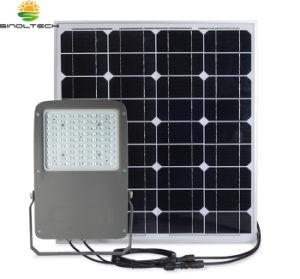 密集させなさい2デザイン5200lm 40W LED別のPV 80Wおよび組み込み488whリチウム電池(SN-S40W)の太陽洪水ライトのすべてを