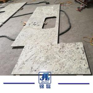 Природные дешевого китайского белого гранита кухонном столе/есть раковина для Вилла/отели и дома