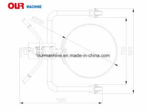 Commercio all'ingrosso idraulico Dt350A del camion del timpano della mano del fornitore della fabbrica della Cina
