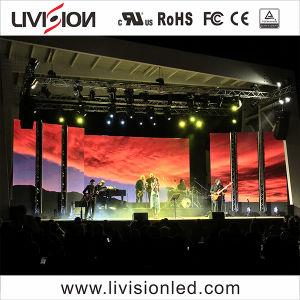 LED de haute qualité mur vidéo écran LED de la location de P4.8 intérieur plein écran LED de couleur pour des événements