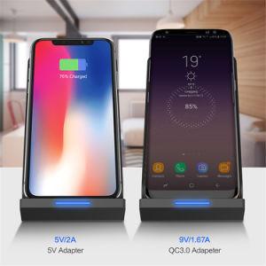 Новейшие N700 быстрой подзарядки Qi стандарта 10W мощные зарядное устройство беспроводной связи для Samsung