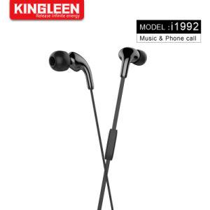 携帯電話のための3.5mmの低音のステレオのヘッドセットが付いている設計されていたスポーツのハイファイ耳のEarbuds Heaphonesのヘッドセットのイヤホーン