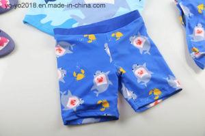 Requin polyester anti-UV haute Soft Kids de sécher rapidement les enfants de maillots de bain