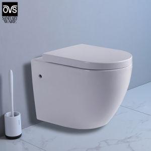 Nuevo diseño de la CE aprobó el mercado europeo colgado en la pared wc
