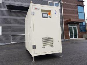 Ventilador centrífugo de suspensión de aire