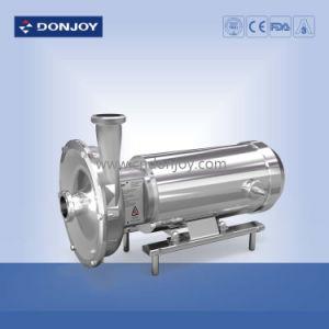 Joint mécanique de haute pureté pompe centrifuge en acier inoxydable complet