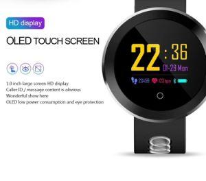 Manchet van de Sport van de Monitor van het Tarief van het Hart van de Armband Smartwatch van de Mannen van het Horloge van de Vrouwen van de Drijver van de fitness de Slimme Q8 PRO Waterdichte voor Androïde Ios
