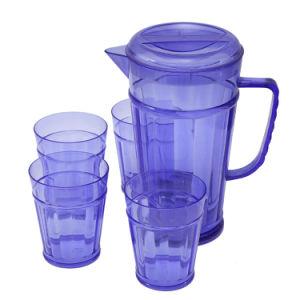 コップ(LFR3599)が付いているプラスチック水やかん