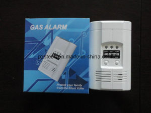 AC220V independiente casa Detector de Gas Combustible carbón Alarma de fuga de Gas Natural