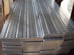 Galvanisierter materielles Stahlbaugerüst-gehender Vorstand