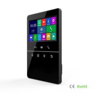 インターホンのホームセキュリティーDoorphoneのビデオ通話装置4.3インチの