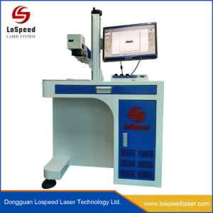 Optische Laser die de Machine van de Gravure met het Systeem van de Wijzer van het Rood licht merken