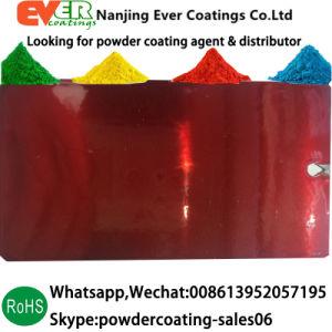 静電気のスプレーキャンデーの外部の使用のための赤い上塗りの粉のコーティング