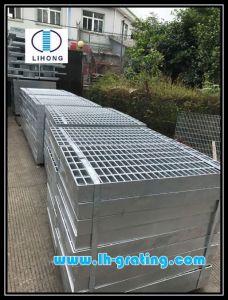 Galvanizado en caliente Q235 Rejilla de acero para la industria y de la Plataforma cubierta de la Trinchera
