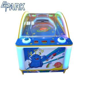 실내에 UFO 공기 하키 기계 추첨 게임 기계