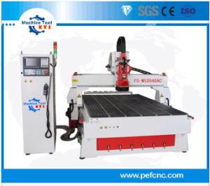 CNCのルーター機械2142を切り分ける3D浮き出しの木版画の切断