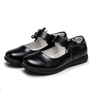 Nuevo diseño Promotiona Damas zapatos uniformes escolares