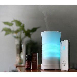 Plástico de 100ml Amazon mejor inteligente de ultrasonidos Humidificador de aire de mando a distancia