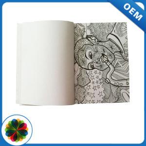 Les Chinois de la fabrication de l'impression noir et blanc d'enfants livre de coloriage