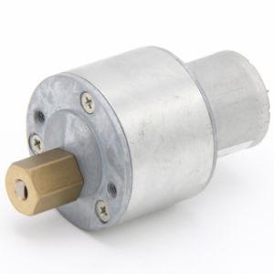 La relación de engranajes de alta DC Motorreductor para el aparato doméstico.