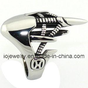 De gietende Ring van de Kroon van de Overeenkomst van de Juwelen van Roestvrij staal 316