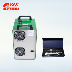 Micro Soudeur à l'hydrogène en verre organique d'oxygène de l'acrylique de polissage machine de flamme