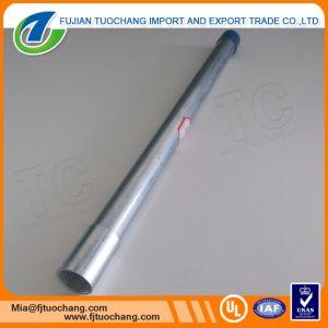 Tubo d'acciaio galvanizzato BS4568 con i filetti su entramba l'estremità