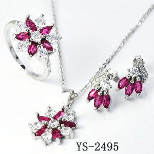 オンラインでアメリカのダイヤモンドの宝石類の花嫁セット女性のために