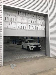 De thermische Geïsoleerdea Gemotoriseerde Lucht Sectionele Deur van de Veiligheid van de Garage Industriële Automatische