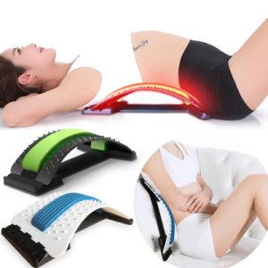 Espalda lumbar para bajar la camilla de masajes y ejercicios de espalda superior