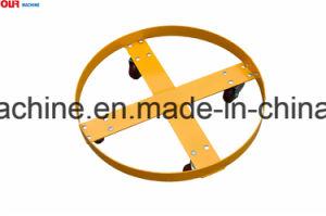プラスチック、鋼鉄またはファイバーのドラムSD55bを移動し、置く55ガロンのバレルのトロッコ