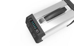 Uso doméstico portátil Power Pack carregador da bateria com painel solar 360Wh 400W