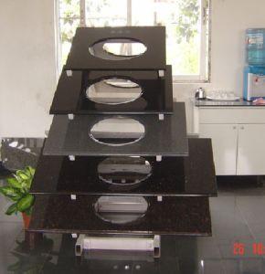 Гранитные есть раковина для ванной комнатой и кухней