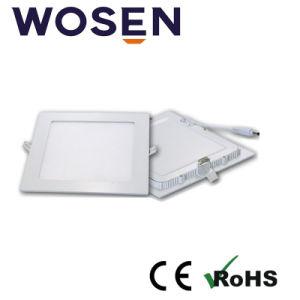매우 호리호리한 6W LED 위원회 빛 (사각)