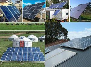 sistema domestico solare 1kw