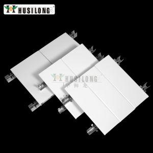 El aluminio en forma de C de metal de tablones tiras de suspensión del sistema lineal de falso techo