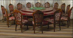 Hotel Lujo mesa y silla de comedor/Hotel 5 Estrellas Lujo juegos de comedor (JNCT-057)