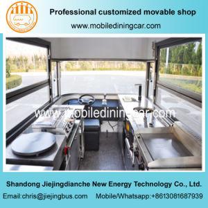 Longue durée de service alimentaire électrique Jiejing chariot pour la vente