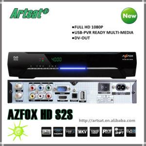 S2s AZFOX Récepteur avec le Patch de Chine, liste de ...