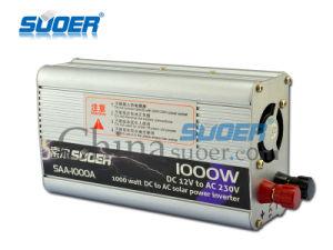 220V 변환장치에 Suoer 공장 가격 1000W 힘 변환장치 12V (SAA-1000A)