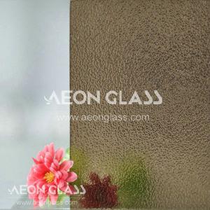 3mm, 3.5mm, 4mm, 5mm, 6mm en 8mm Patterned Glass, Figured Glass, Bronze Nashiji Glass
